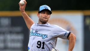Alessandro Maestri Blue Sox Pitcher