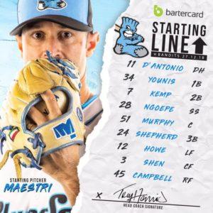 Lineup Sox
