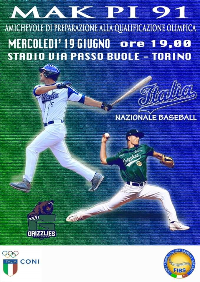 Nazionale Baseball Torino