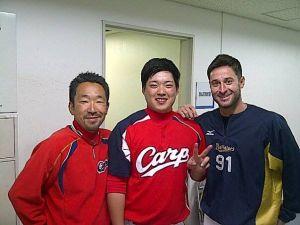Alex Maestri Pitcher Japan Buffaloes 2014 (230)