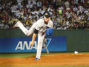 Alex Maestri Pitcher Japan Buffaloes 2014 (235)