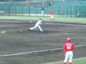 Alex Maestri Pitcher Japan Buffaloes 2014 (245)