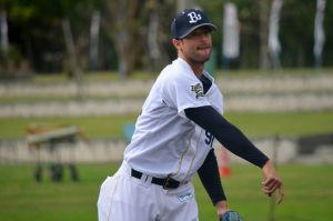 Alex Maestri Pitcher Japan Buffaloes 2014 (265)