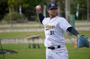 Alex Maestri Pitcher Japan Buffaloes 2014 (266)