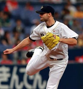 Alex Maestri Pitcher Japan Buffaloes 2014 (303)