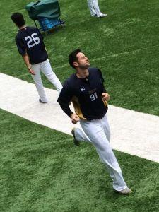 Alex Maestri Pitcher Japan Buffaloes 2014 (312)