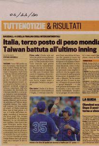 Gazzetta 1 Novembre 2011