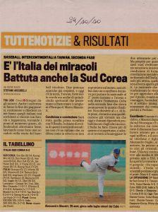 Gazzetta 29 Ottobre 2010