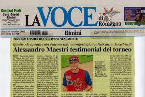 La Voce 21 Novembre 2009