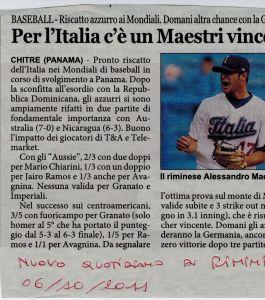 Nuovo Quotidiano 6 Ottobre 2011