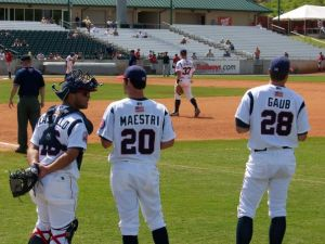 Tennesee Smokies Maestri Baseball Minorleagues (2)