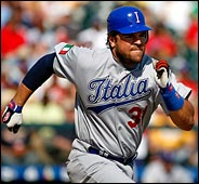 Mike Piazza's weakness
