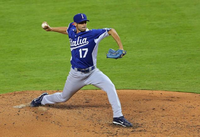 Alex Maestri Italy World Baseball Classic 2017