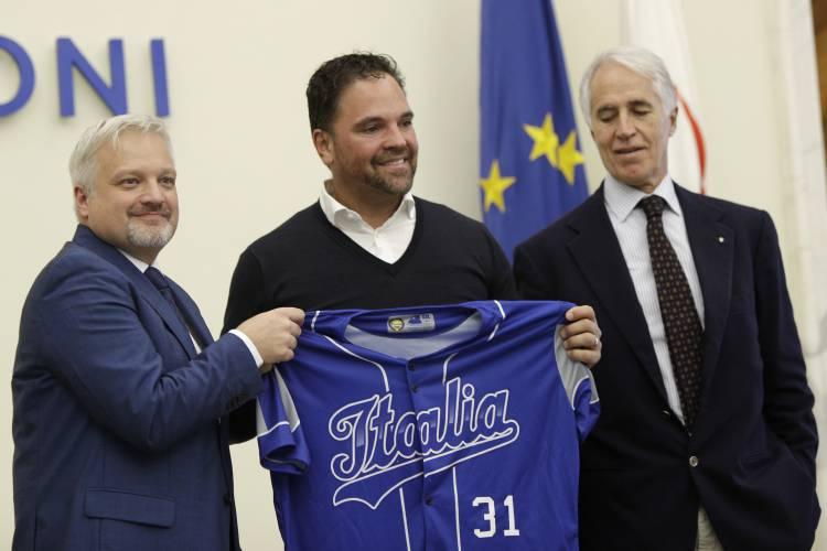 Mike Piazza allenatore Italia